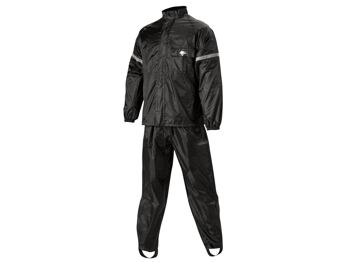 ネルソンリグ■ウェザープロ レインスーツ(上下セット)WP-8000 ブラック/ブラック