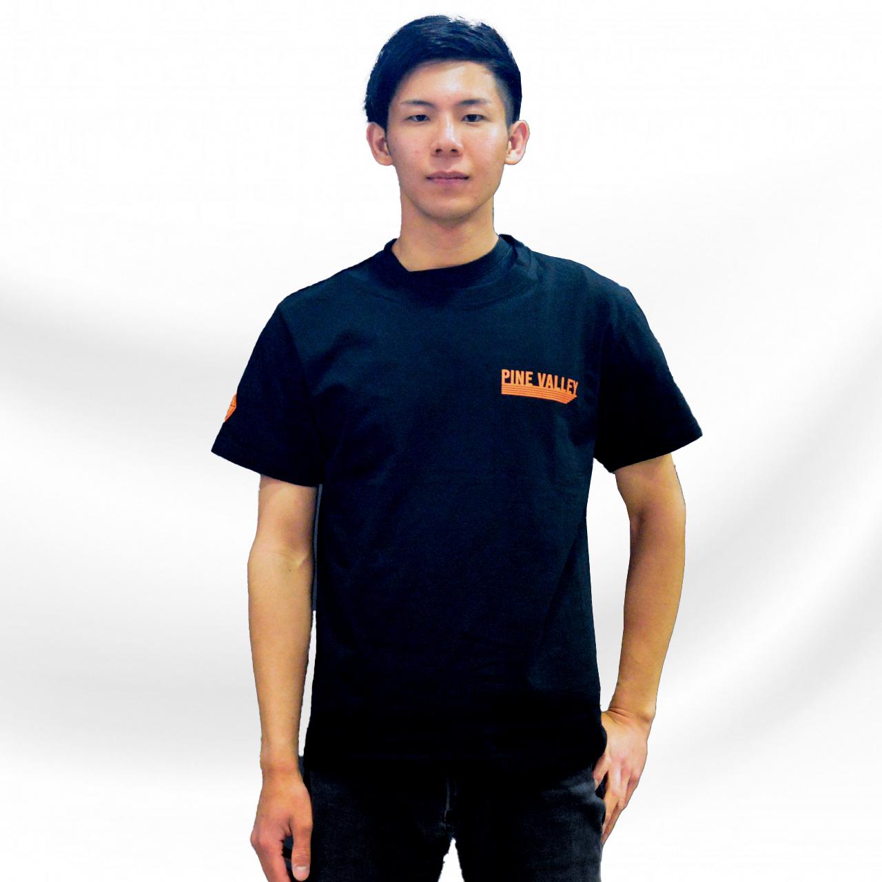 パインバレー■G★コラボTシャツ第4弾 スタンダードモデル ブラック/オレンジ