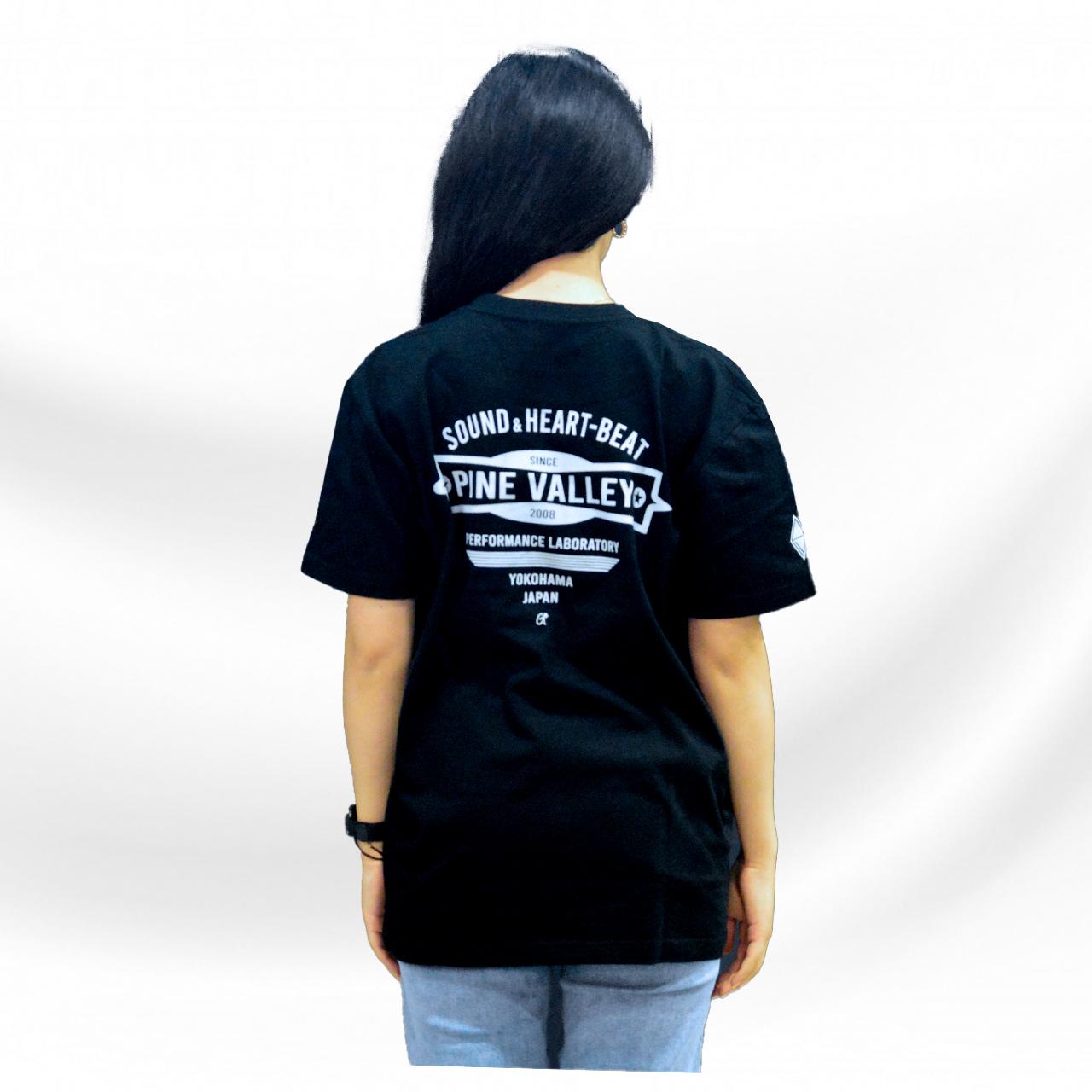 パインバレー■G★コラボTシャツ第4弾 スタンダードモデル ブラック/グレー