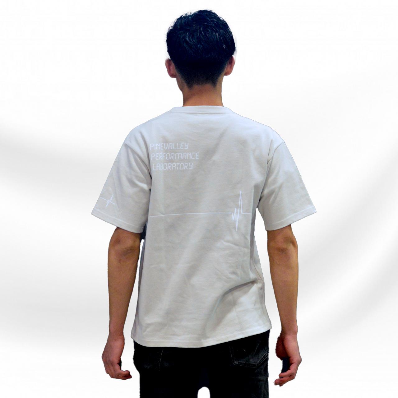 パインバレー■G★コラボTシャツ第5弾 オックが欲しいモデル グレージュ/ホワイト