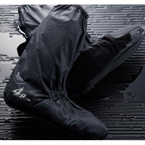 キジマ■4R ブーツカバー ブラック 左右SET