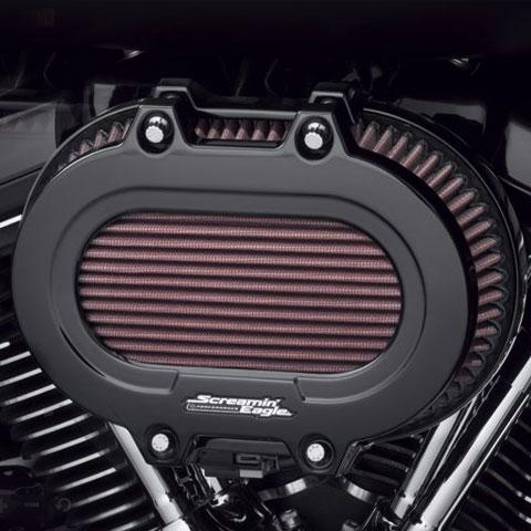 ハーレー純正■スクリーミンイーグル ベンチレーター エクストリーム エアクリーナーカバー グロスブラック Screamin' Eagle Ventilator Extreme Air Cleaner Cover 17以降ツーリング18以降ソフテイル [61300994]