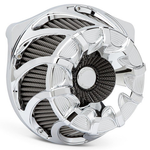 アレンネス■ Inverted エアクリーナーキット ドリフト クローム/17年以降ツーリング18年以降ソフテイル/Drift Inverted Series Air Cleaner/Chrome [264330]