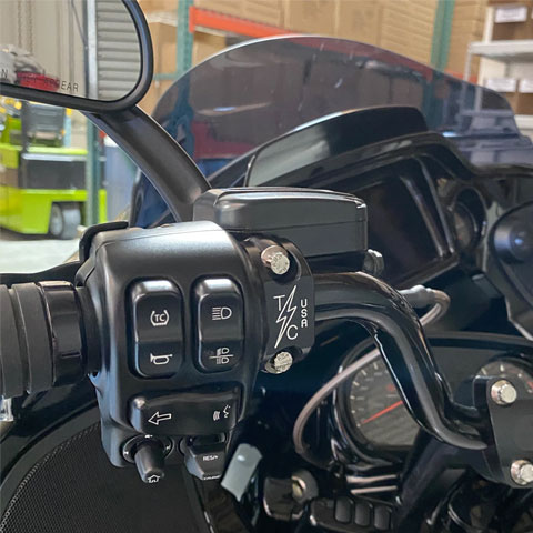 スラッシンサプライ■クラッチ/ブレーキ パーチクランプ トゥワイスカット Thrashin Supply Clutch/Brake Perch Clamp Twice Cut [TSC-2703-TC]