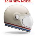 BELLベルヘルメット BULLITTブリット ストライプスパールホワイト