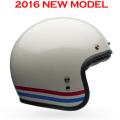 BELL ベルヘルメット CUSTOM500 カスタム500 ストライプスパールホワイト