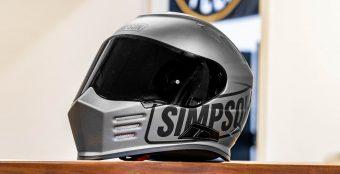 【日本未発売!?】安心のサイズ交換無料♪ SIMPSON(シンプソン)ヘルメット・ゴーストバンディットロゴ在庫あります! byイナッキー