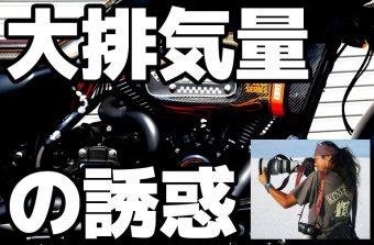 大排気量エンジンのススメ【ハーレーのエンジン積み替え】試乗インプレ