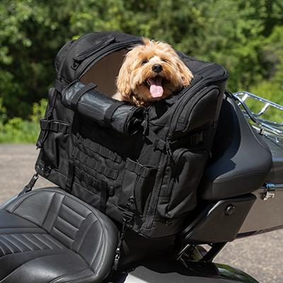 クリアキン■ペットパレス タイタン ペット用ツーリングシートバッグ