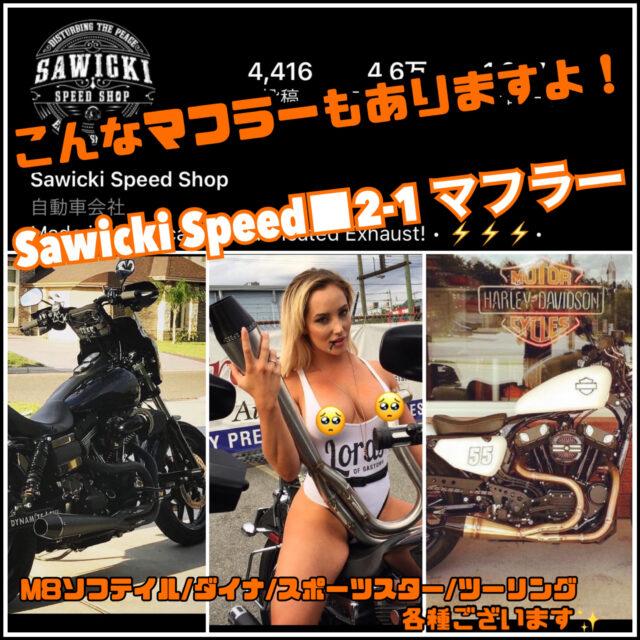 【Sawicki(サウィッキ) 2-1 マフラー】『珍しくて他とかぶらないのが欲しい…』そんな方におすすめのマフラーをご紹介!!